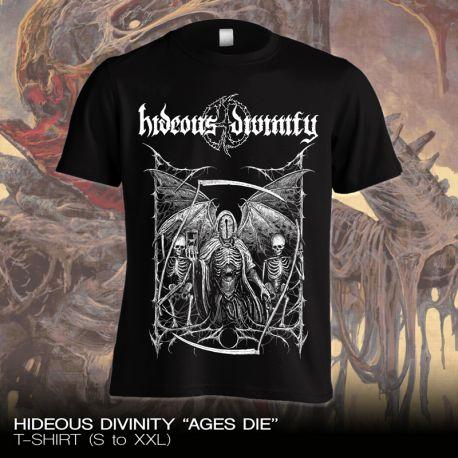 """Hideous Divinity """"Ages Die"""" (T-shirt)"""