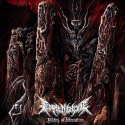 "Temple Nightside ""Pillars Of Damnation"" (CD)"