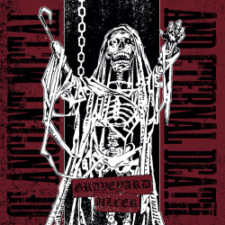"""Graveyard/Ulcer """"Of Ancient Metal And Eternal Death"""" (7"""")"""
