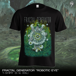 "Fractal Generator ""Robotic Eye"" (T-shirt)"