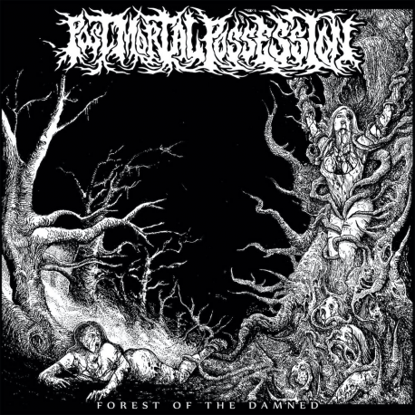 """Post Mortal Possession """"Forest Of The Damned"""" (CD)"""