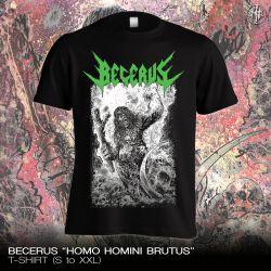 """[PRE-ORDER] Becerus """"Homo Homini Brutus"""" (T-shirt)"""