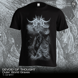"""Devoid Of Thought """"Outer World Graves"""" (T-shirt)"""