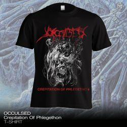 "[PRE-ORDER] Occulsed ""Crepitation Of Phlegethon"" (T-shirt)"