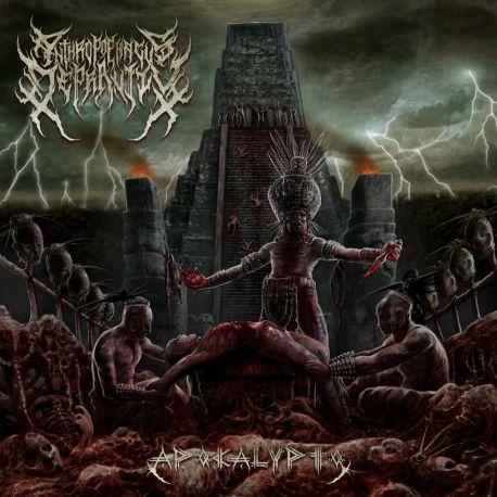 """Anthropophagus Depravity """"Apocalypto"""" (CD)"""