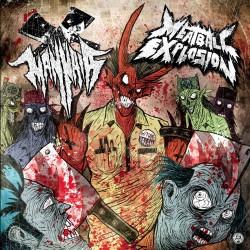 """Mannaia/Meatball Explosion """"Split"""" (12"""")"""