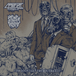 "Mindful Of Pripyat/Stench Of Profit ""New Doomsday Orchestration"" (12"")"