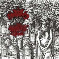 """Aries Vehemens/Blood Vomit Ritual """"Middle Aged Stinking Cowboys"""" (7"""")"""