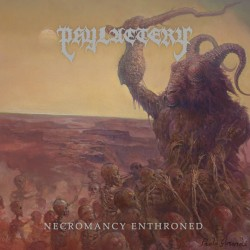 "Phylactery ""Necromancy Enthroned"" (CD)"