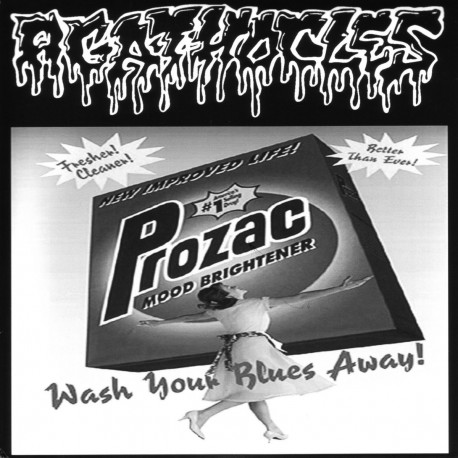 """Agathocles/Degenerhate """"Wash Your Blues Away!/The Nothing I've Become"""" (7"""")"""