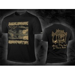 "Sublime Cadaveric Decomposition ""Where The Devil In Silence Rests COVER"" (T-shirt)"
