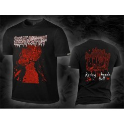 "Sublime Cadaveric Decomposition ""Where The Devil In Silence Rests RED"" (T-shirt)"