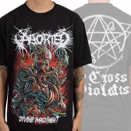 """Aborted """"Divine Impediment"""" (T-shirt)"""