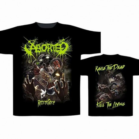 "Aborted ""Retrogore"" (T-shirt)"