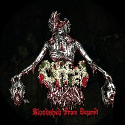"Offal/Decrepitaph ""Bloodshed From Beyond/Obsessed With Oblivion"" (12"")"