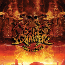 """Bone Gnawer """"Cannibal Crematorium"""" (LP)"""