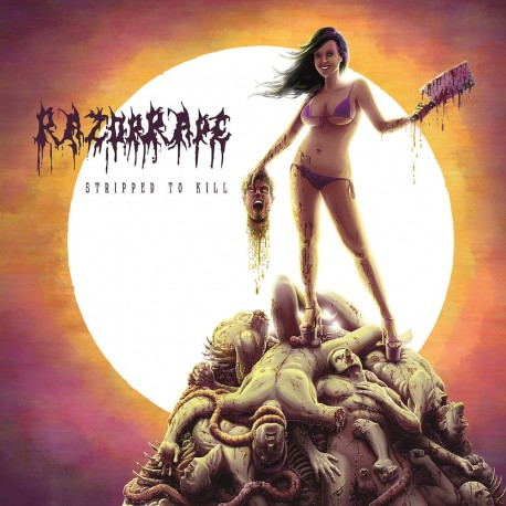 "Razorrape ""Stripped To Kill"" (CD)"