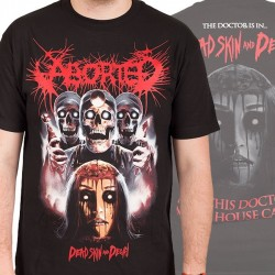 "Aborted ""Dead Skin"" (T-shirt) [TOUR LEFTOVER]"