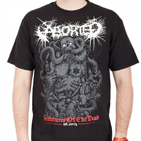 """Aborted """"Scriptures Of The Dead"""" (T-shirt) [TOUR LEFTOVER]"""