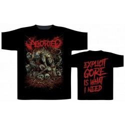 "Aborted ""Explicit Gore"" (T-shirt)"