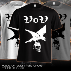 "Voids Of Vomit ""VoV Crow"" (T-shirt)"