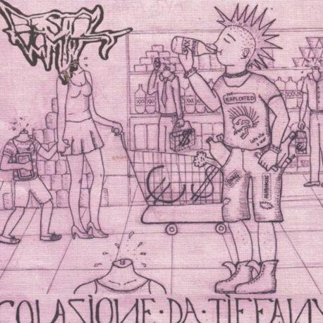 """Smelling Fetid Corpse/Bestial Vomit """"Holocaust/Colazione Da Tiffany"""" (7"""")"""