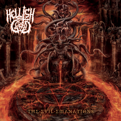 "Hellish God ""The Evil Emanations"" (CD)"