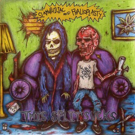 "Phalloplasty/Slamophiliac ""This Split Sucks"" (CD)"""