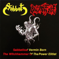 "Sabbat/Paganfire ""Sabbatical Vermin Born/The Witchhammer Of The Power Elitist"" (CD)"