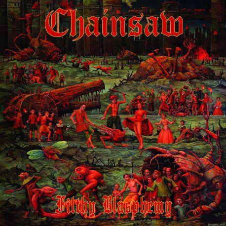 "Chainsaw ""Filthy Blasphemy"" (LP)"