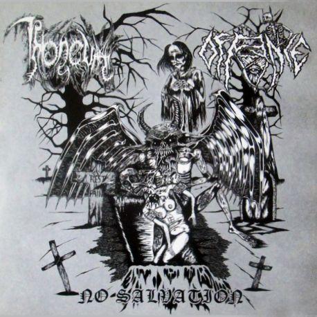 """Throneum/Offence """"No Salvation"""" (7"""")"""