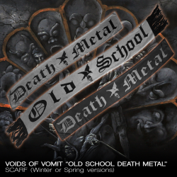 "Voids Of Vomit ""Old School Death Metall"" (Scarf)"