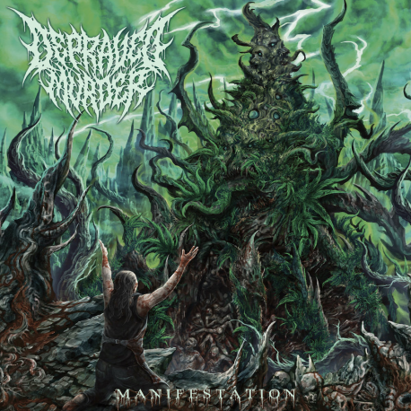 "Depraved Murder ""Manifestation"" (CD)"