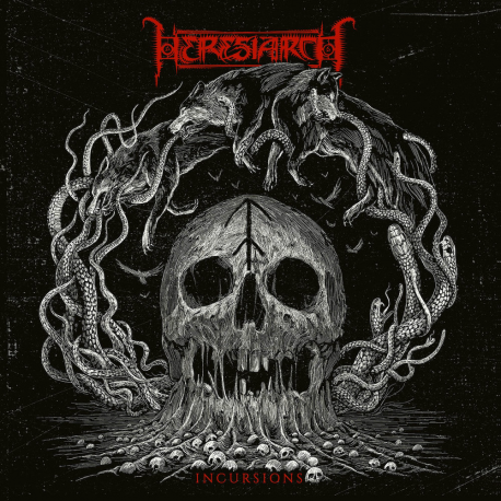 """Heresiarch """"Incursions"""" (CD)"""