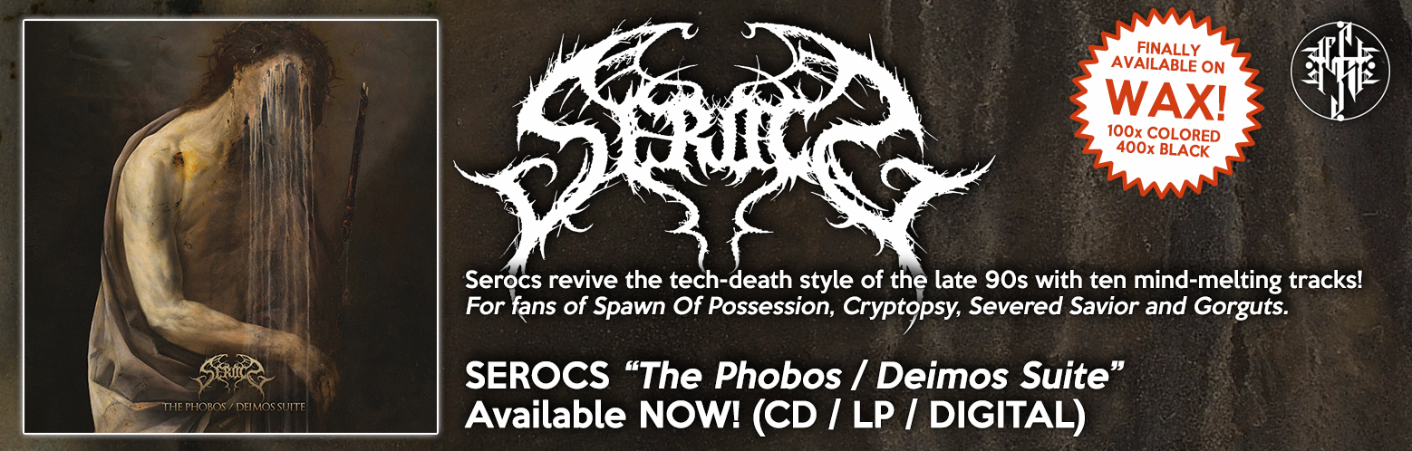 "SEROCS ""The Phobos/Deimos Suite"" NOW AVAILABLE! CD / DIGITAL / MERCH / BUNDLES"
