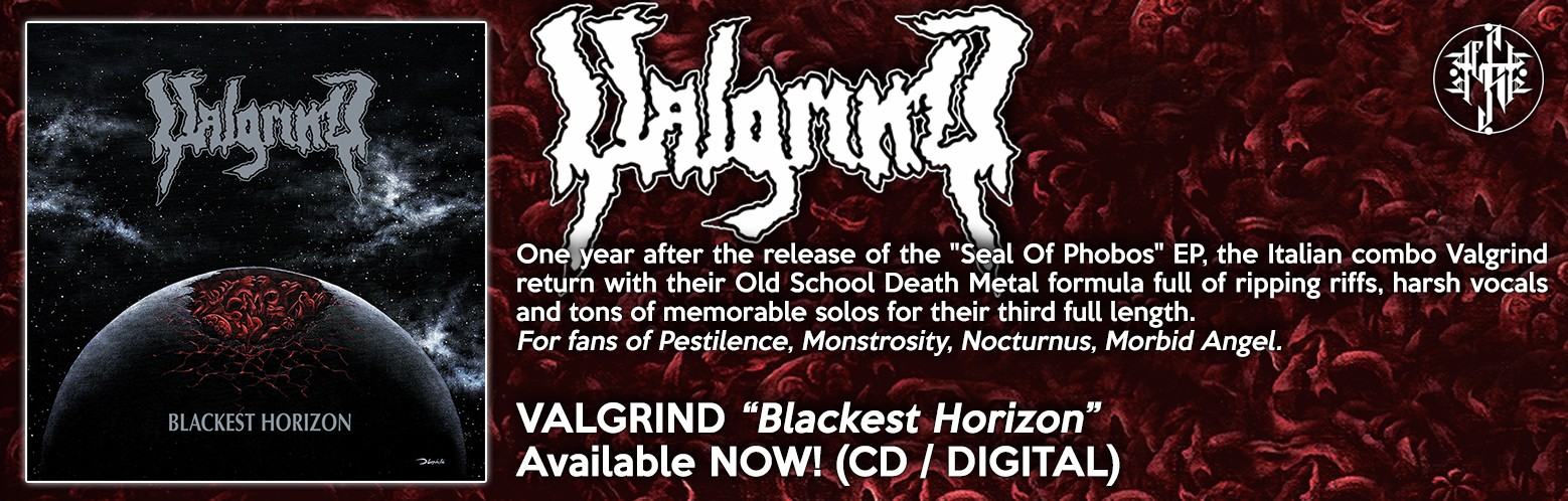 "Valgrind ""Blackest Horizon"" NOW AVAILABLE! CD / DIGITAL / MERCH / BUNDLES"